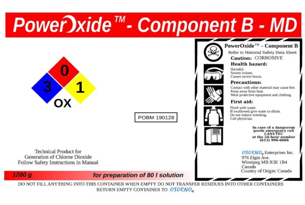 PowerOxideTM-Component-B-MD-80l